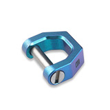 MecArmy - CH2 Titanium D shape key ring