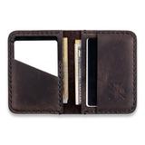 Manboro - Bifold Cardholder, Brown