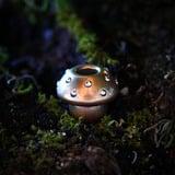 Audacious Concept - Amanita Bead, Copper/Silver