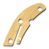 Flytanium - Delica Backspacer Brass
