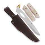 Brisa - Trapper 95 DIY Kit, N690 Scandi, brown micarta