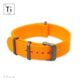 Prometheus Design Werx - Ti-NATO Strap - Orange