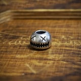 Audacious Concept - Smiley Bead Small, Sterling Silver