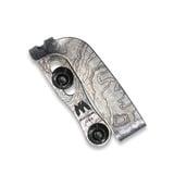 Triple Aught Design - Slotted TI Clip TAD Edition Titanium Topo