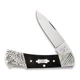 Case Cutlery - Worked Bolster Ebony Wood Smooth Lockback