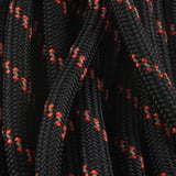 Paracord - 550, Black/Orange Reflective