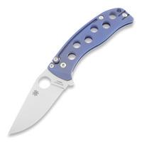 Spyderco - PITS Folder Blue Titanium
