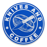 Audacious Concept - Knives and Coffee, modrá