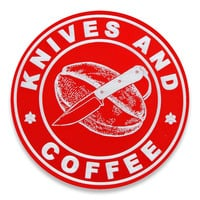 Audacious Concept - Knives and Coffee, červená