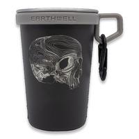 Triple Aught Design - Earthwell Pint Cup Black Topo Skull