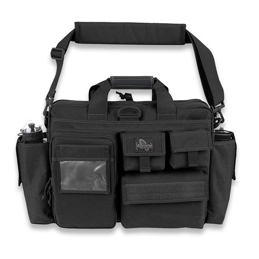 Maxpedition Aggressor Tactical Attache 숄더 백, 검정