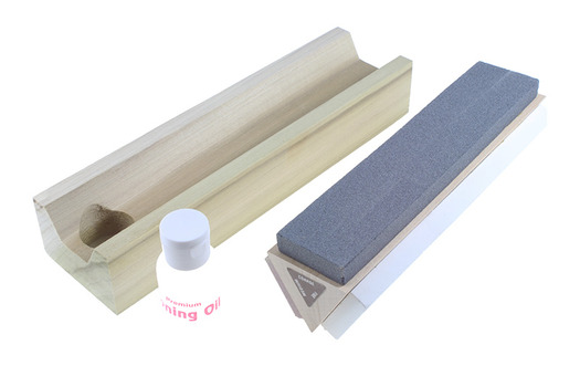 Arkansas Tri-Hone Sharpening Stone 8