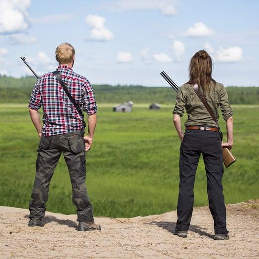 Fripro Quickshooter Gun Sling, juoda