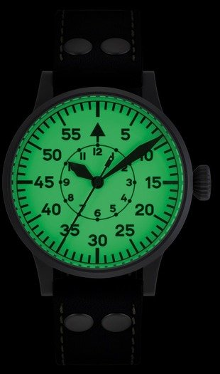 Laco Wien pilot watch, automatic