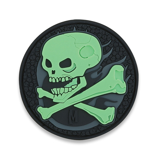 Maxpedition Skull glow パッチ SKULZ
