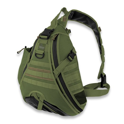 Maxpedition Monsoon GearSlinger ryggsäck, grön 0410G