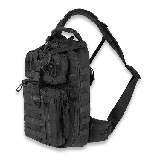 Maxpedition Sitka Gearslinger バックパック, 黒