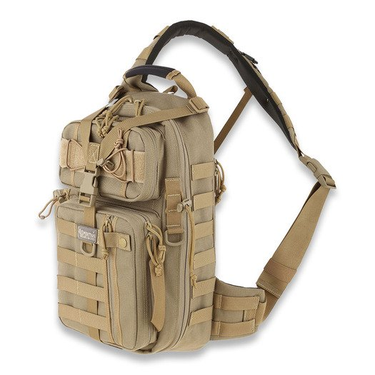 Maxpedition Sitka Gearslinger バックパック, カーキ色