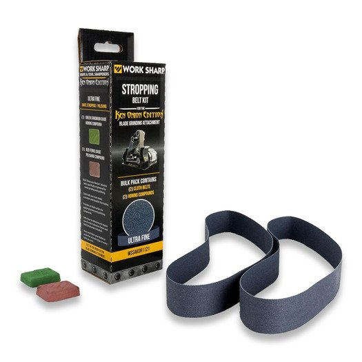 Work Sharp Ken Onion Blade Grinder Stropping Belt Kit