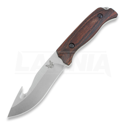 Benchmade Hunt Saddle Mountain Skinner with Hook Dymondwood jagtkniv 15003-2