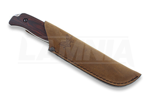Benchmade Hunt Saddle Mountain Skinner with Hook Dymondwood Jagdmesser 15003-2