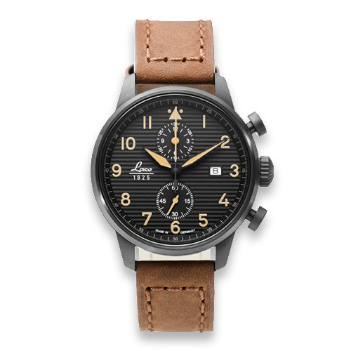 Laco Engadin pilot watch