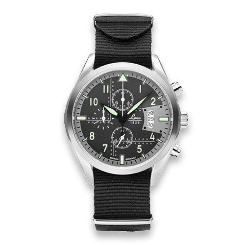 Laco Detroit pilot watch