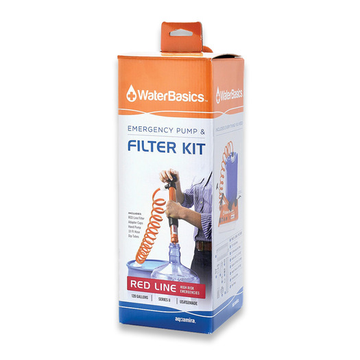 Aquamira Emergency Pump and Filter Kit