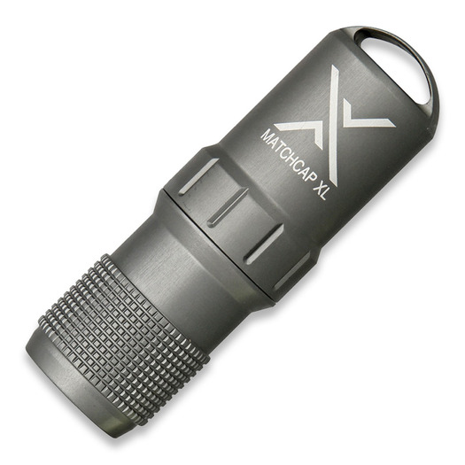 Exotac MATCHCAP XL, сірий