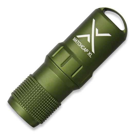 Exotac MATCHCAP XL, žalia