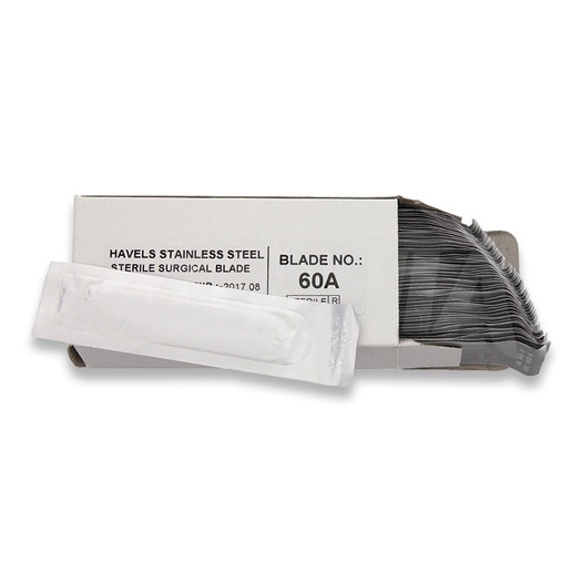 Noatera Havalon Piranta blades #60A, box of 50