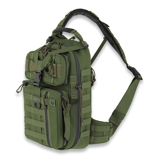 Maxpedition Sitka Gearslinger バックパック, 緑