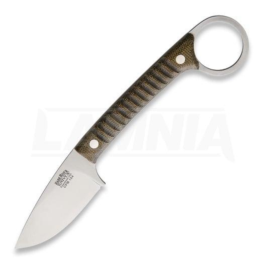 Nôž na krk Bark River Ringtail Green Canvas 06142MGC