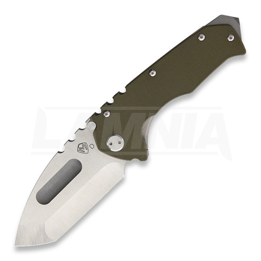 Medford Knife and Tool Praetorian G folding knife, green