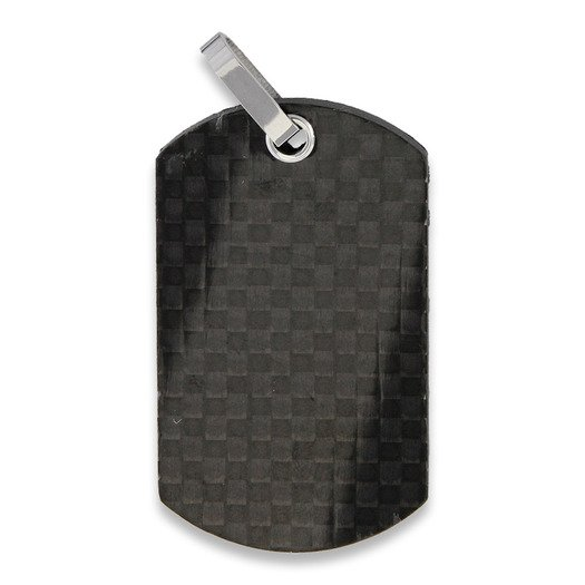 Bastion Pure Carbon Fiber Dog Tag