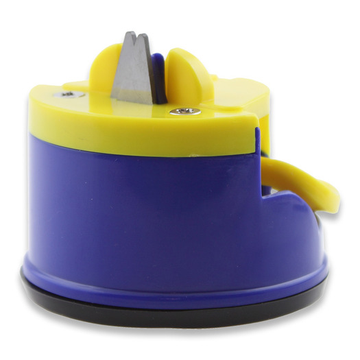 EKA CombiSharp pocket sharpener, blue/yellow