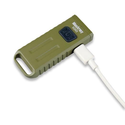 MecArmy SGN3, žalia