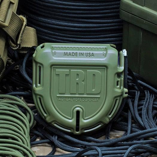 Atwood Tactical Rope Dispenser, žalia