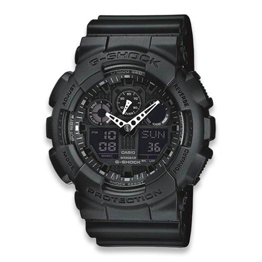 Rokas pulkstenis Casio G-Shock Classic GA-100, melns