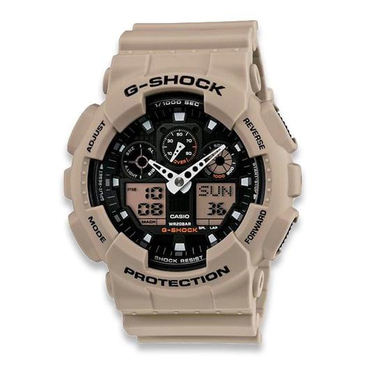 Casio G-Shock Classic GA-100L שעון יד, coyote