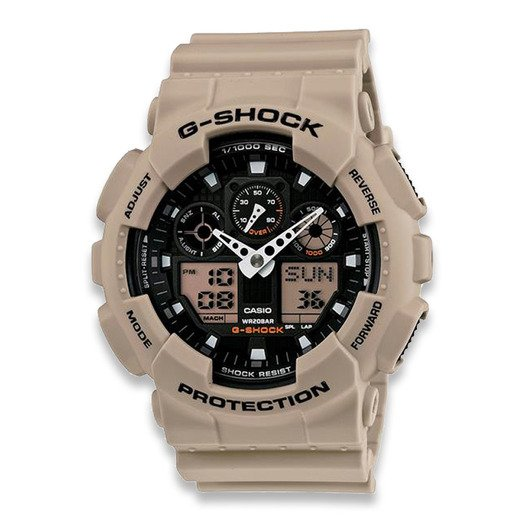 Casio G-Shock Classic GA-100L laikrodis, coyote