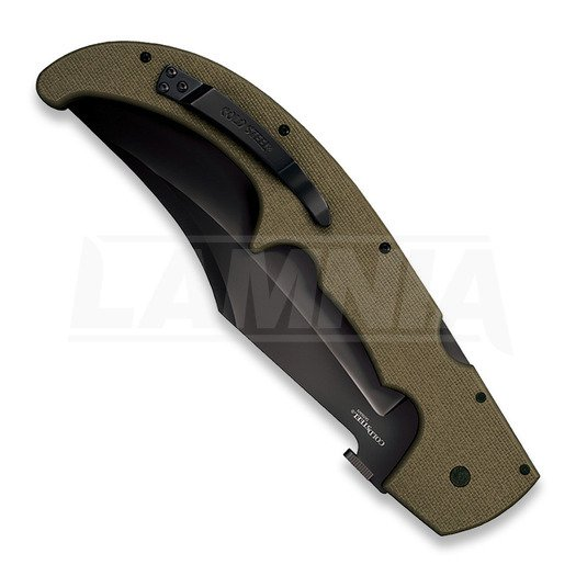 Couteau pliant Cold Steel Espada G-10, extra large CTS-XHP, od green 62NGXVG