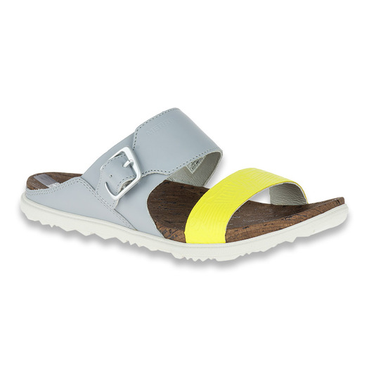 Merrell Around Town Buckle Slide Print W sleet sandals
