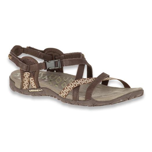 Merrell Terran Post II black sandals