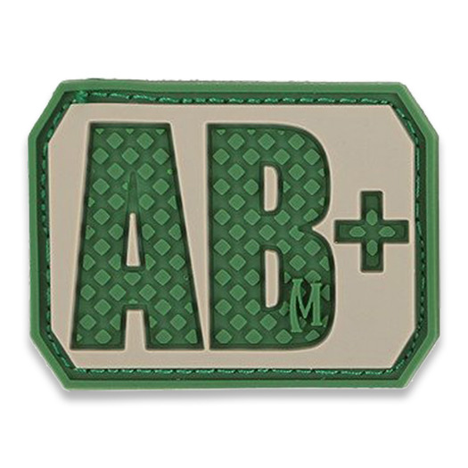 Maxpedition AB+ Blood type lipdukas, arid BTABPA