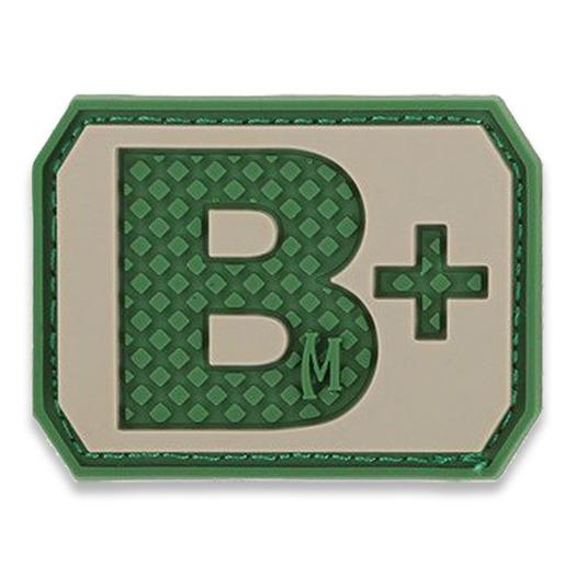 Maxpedition B+ Blood type lipdukas, arid BTBPA