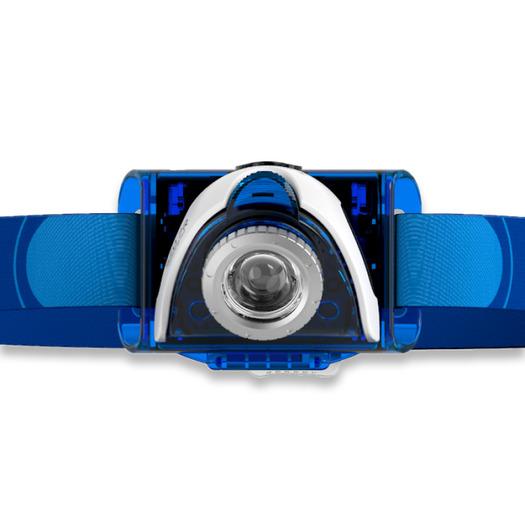 Φακός κεφαλής Ledlenser Seo 7R, μπλε