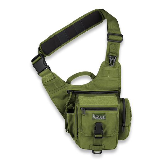 Maxpedition FatBoy S-type Versipack ショルダーバッグ, 緑