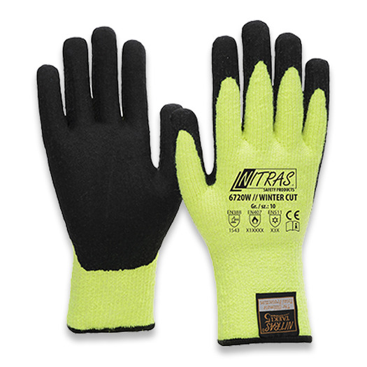 Nitras 6720 Winter Cut cut-proof gloves