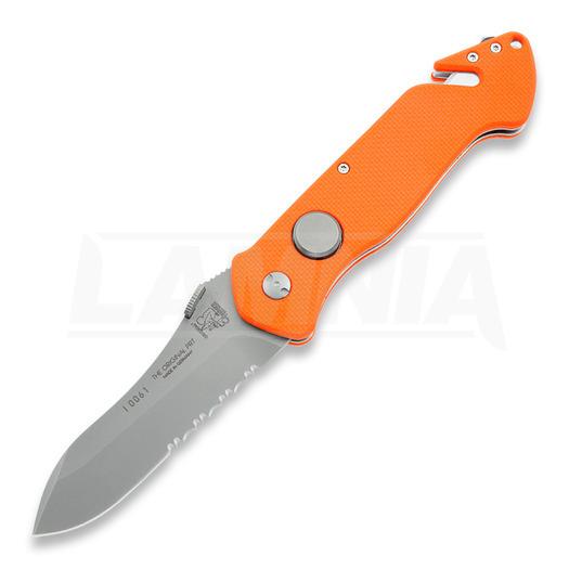 Original Eickhorn-Solingen PRT II Firefighter folding knife, orange 802272